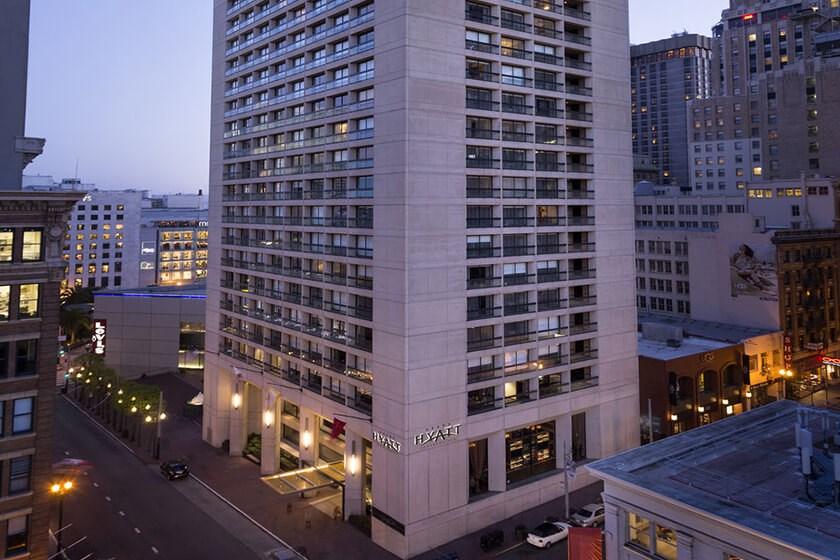 The Grand Hyatt Hotel San Francisco