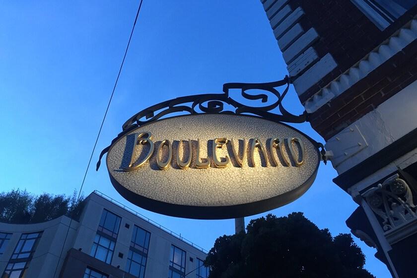 Boulevard restaurant San Francisco